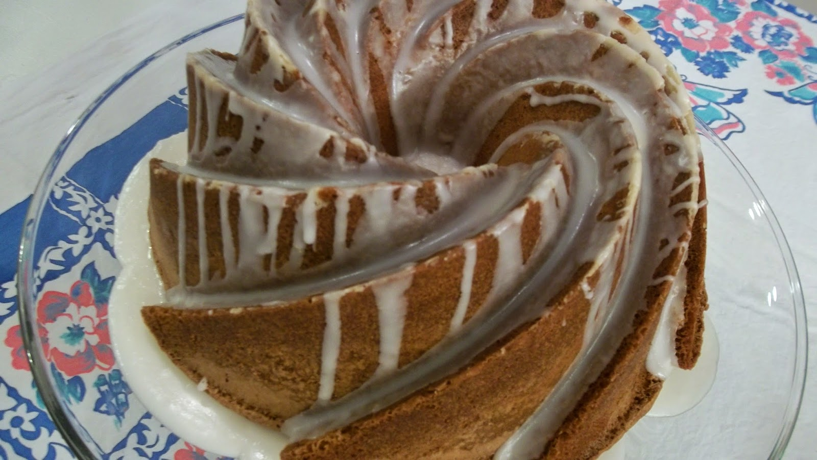 THE JOY OF BUNDT CAKES: My Recipe Gift To You Citrus Bliss Bundt Cake
