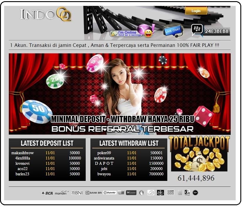 IndoQQ - klik Poker