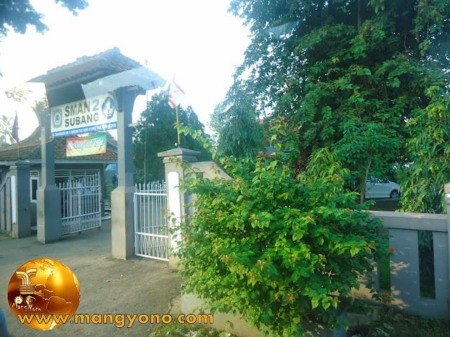 Gerbang SMA Negeri 2 Subang ( SMANDA )