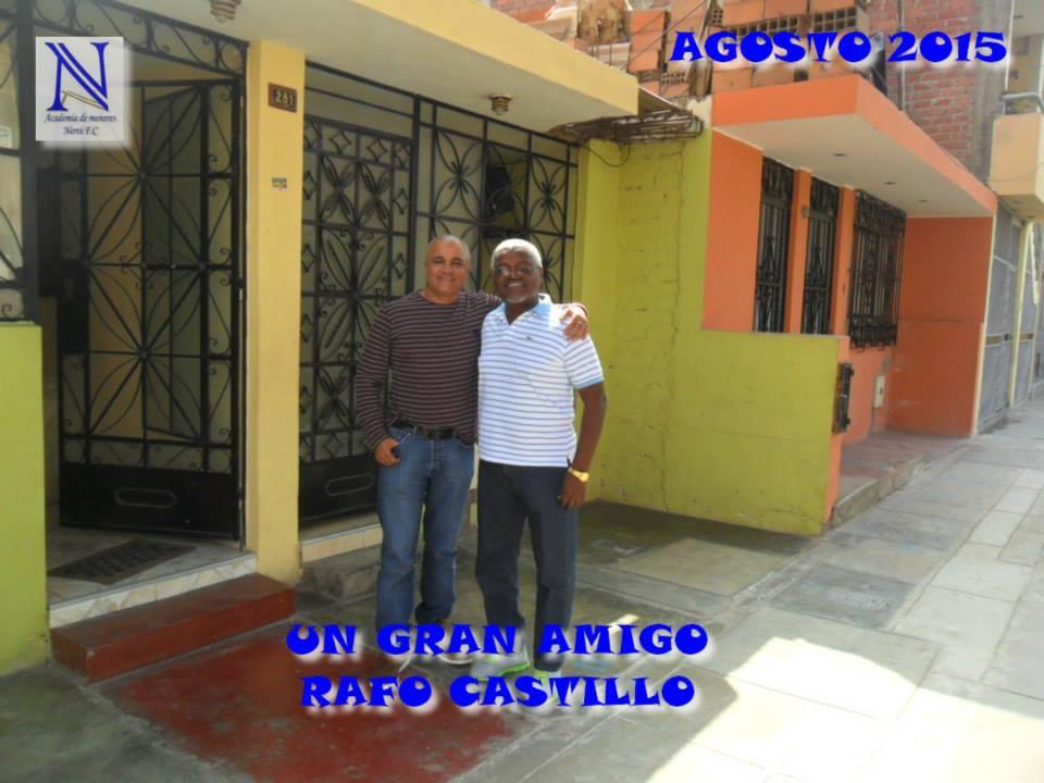 VISITA PROF. RAFO CASTILLO