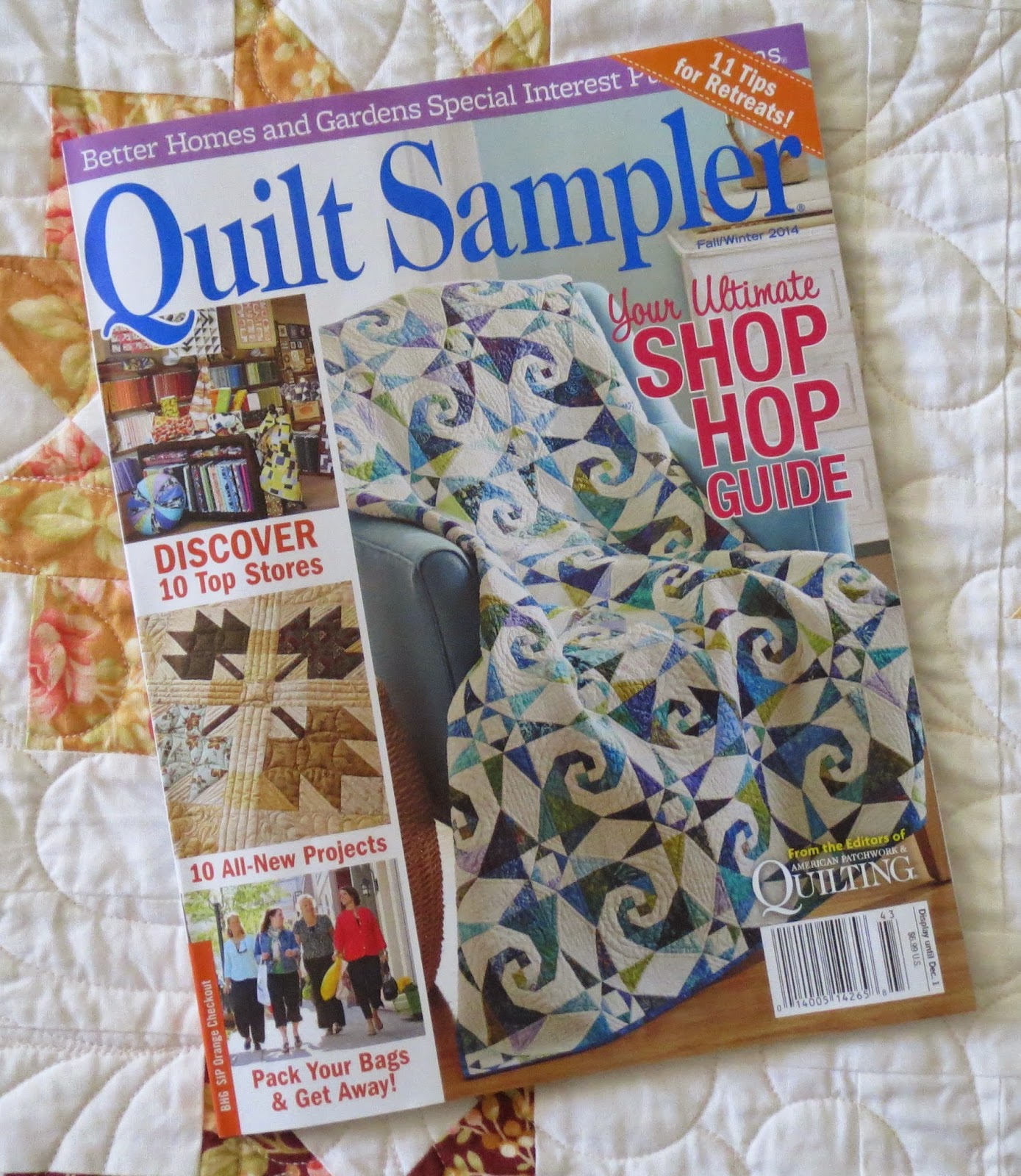 Quilting on Main Street: Quilt Sampler Fall 2014 : quilt shops near here - Adamdwight.com