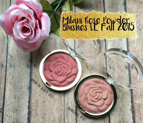 Fall LE Milani Rose Powder Blushes