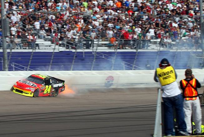 jeff gordon phoenix win 2011. Jeff Gordon, following the win