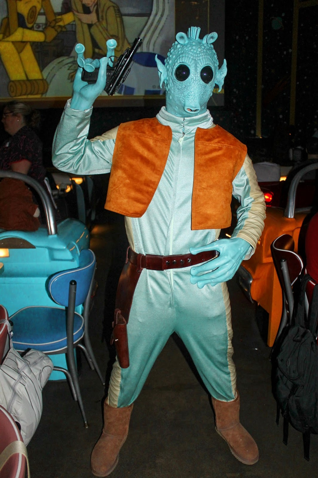 Greedo Star Wars Galactic Dine In Sci Fi