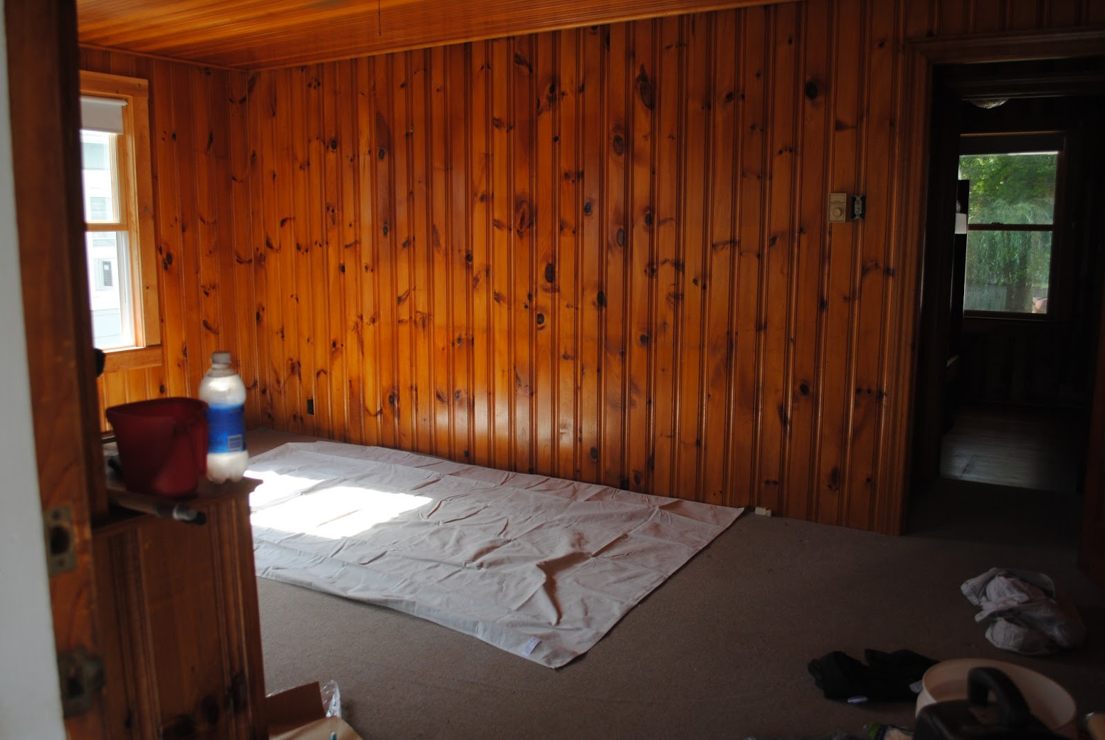 Painted Knotty Pine House By Holly Beach House Progress