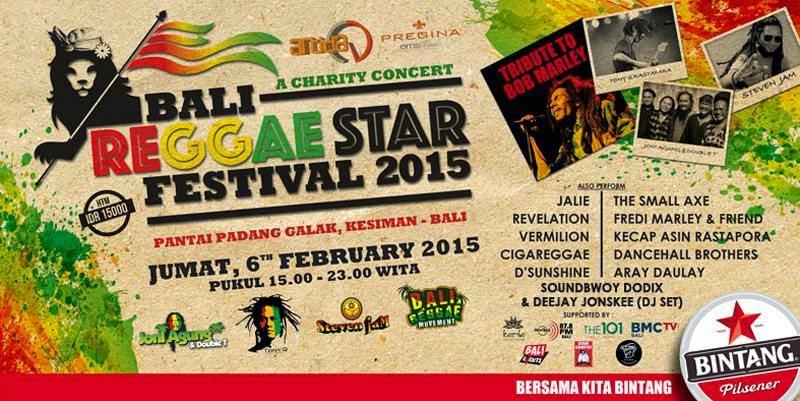 Bali Reggae Star Festival 2015 Di Gelar Februari