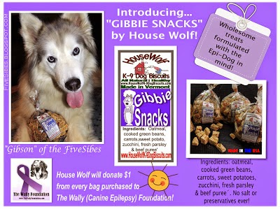 "Gibson is Namesake of New Wholesome Vermont, USA Baked Treats - the  ""Gibbie Snacks!!!"""