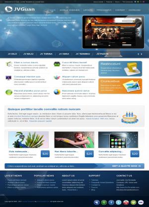 Share template JV Guan - Joomla 1.5