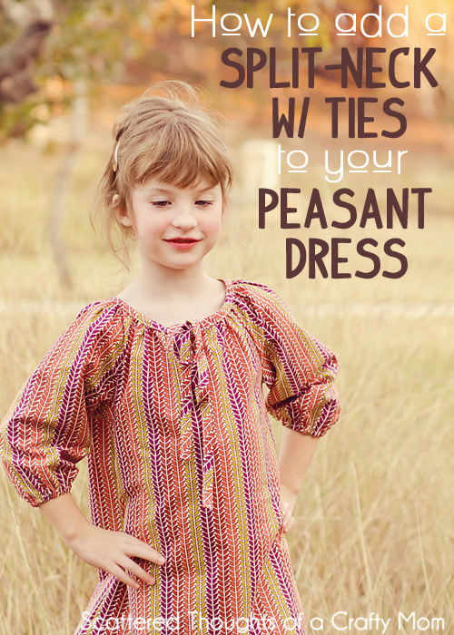 Make a Flutter Sleeve Peasant Top