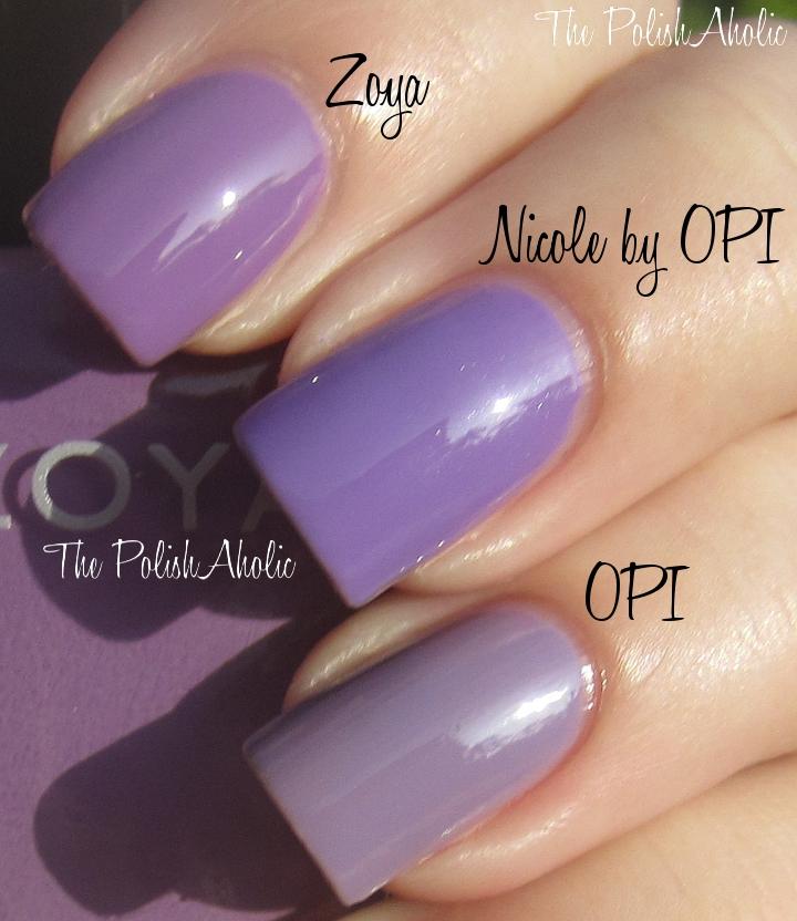 The PolishAholic: Nicole by OPI Selena Gomez Collection Comparisons