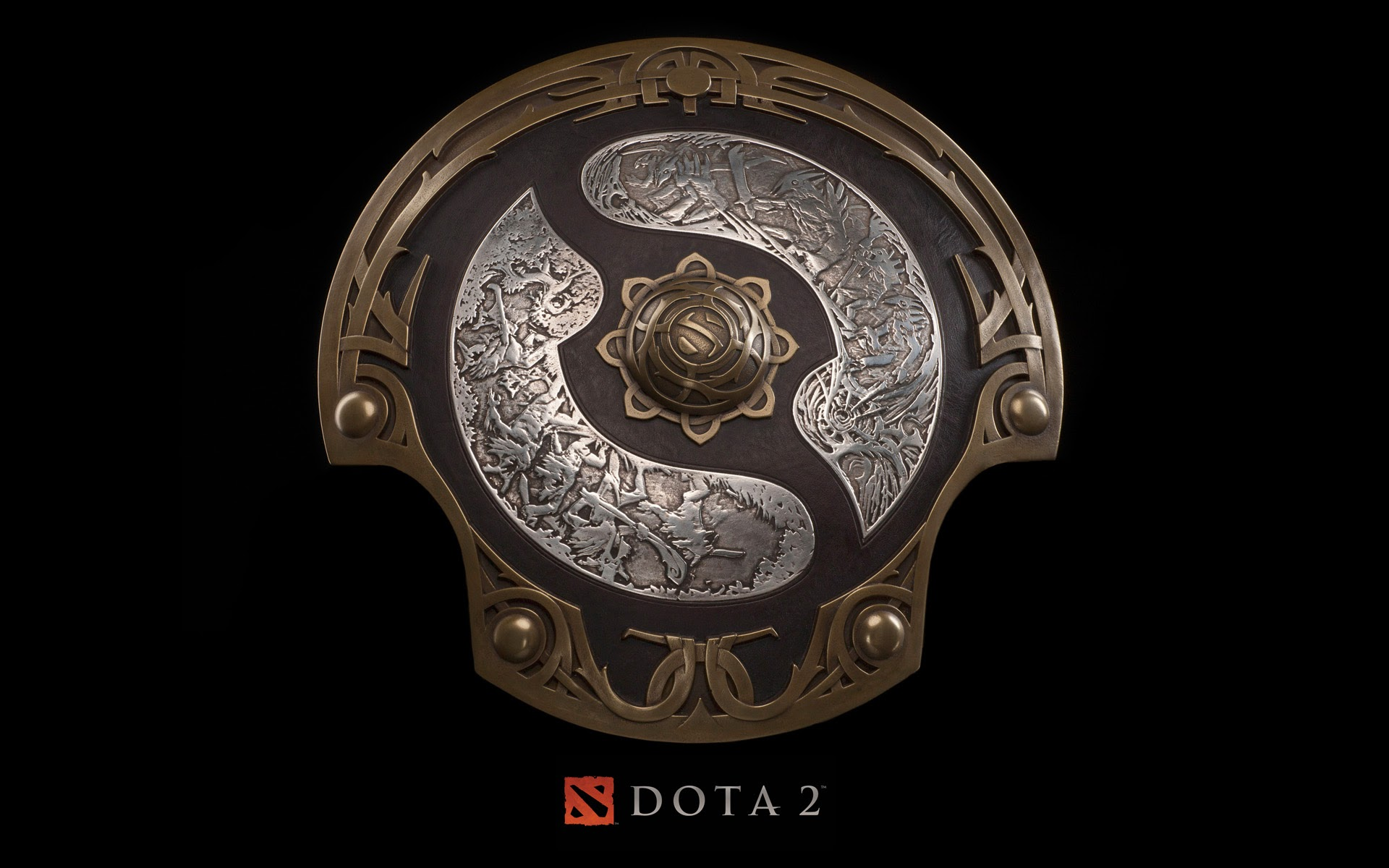 DOTA 2 Logo Shield a39