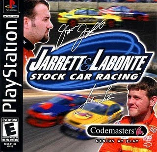 Super Compactado Jarrett And Labonte Stock Car Racing PS1