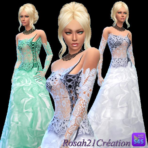 Ropa para Mujer Sims4-Dress-Robe-bustier-dentelle-Rosah21Creation-21-juillet2015a
