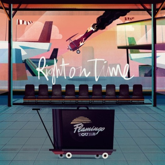 Disco FLAMINGO TOURS - Right on time