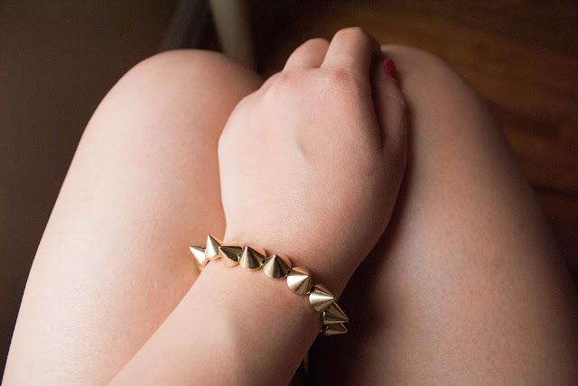 DIY stud bracelet