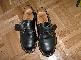 Dr Martens monk strap shoe