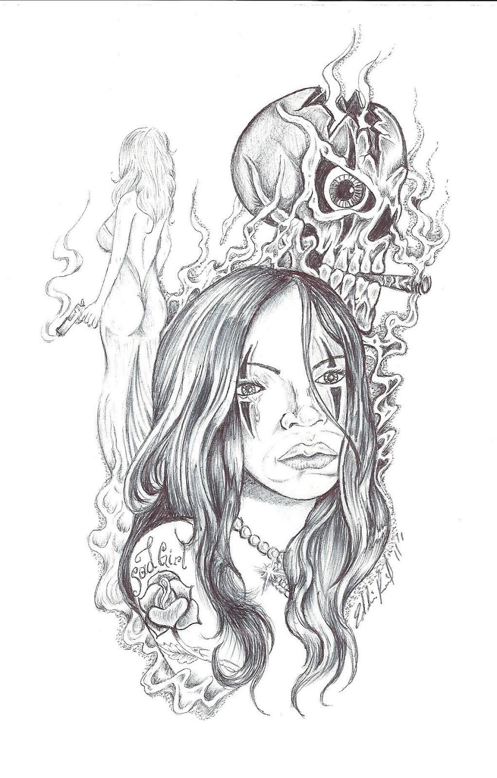 Prison art by the great tattoo artist eddie reid