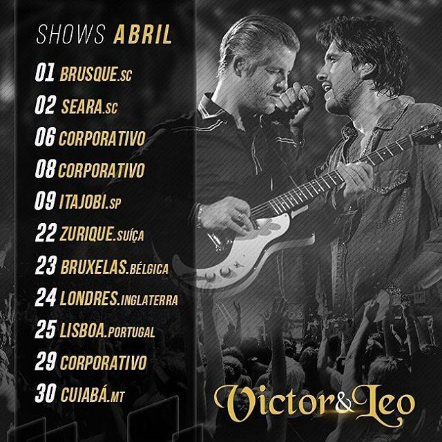 Shows de Abril