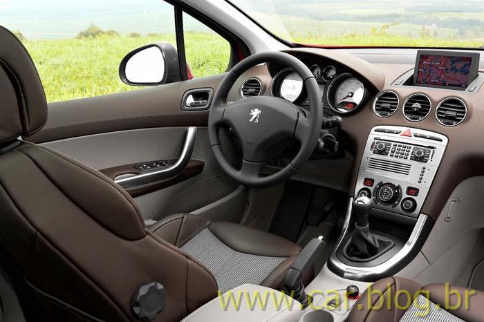 Novo Peugeot 308 2012 - Interior