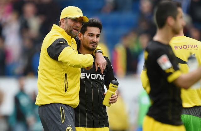 Jurgen Klopp signed Gundogan for Dortmund in 2011. (Picture: Getty)