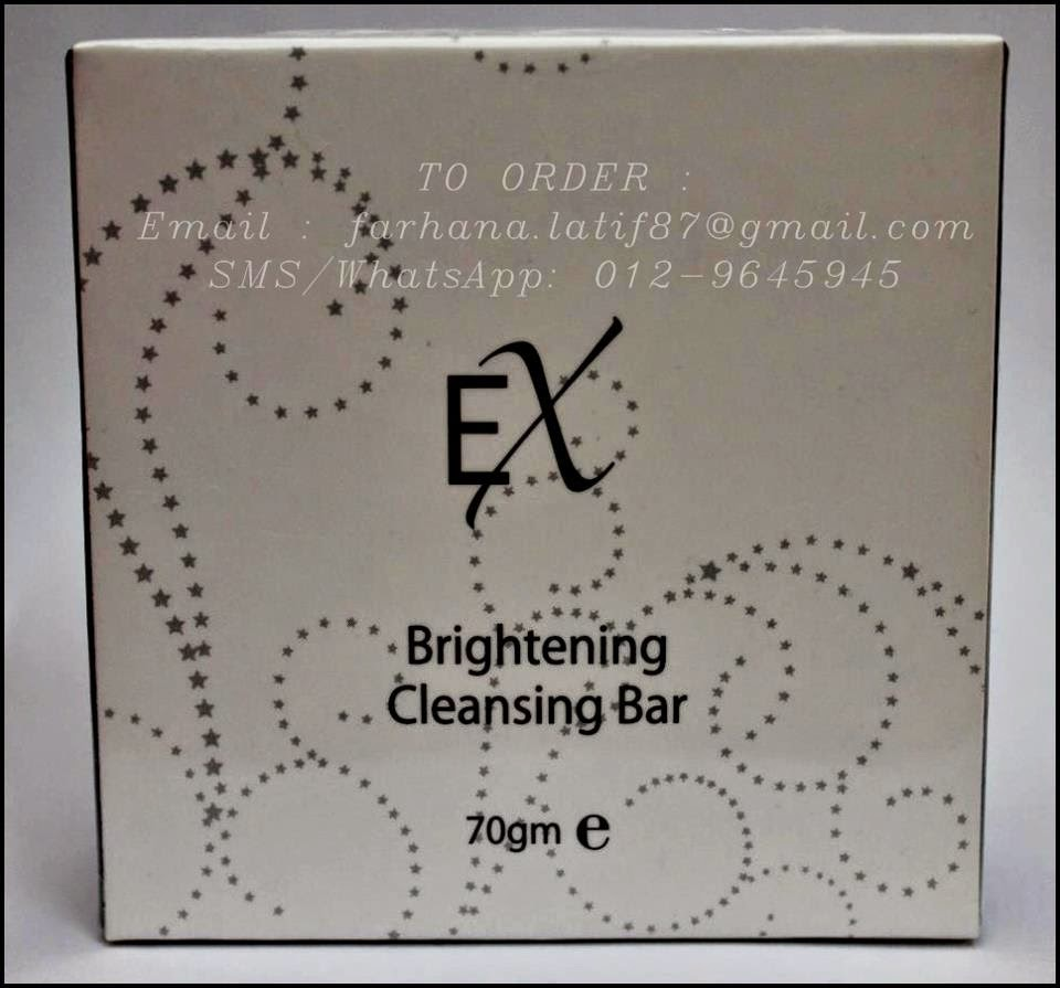 EX Brightening Cleansing Bar (RM70)