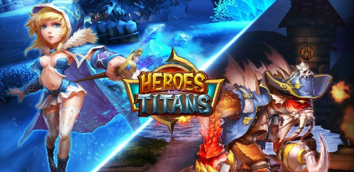 Heroes and Titans 3D Android Hileli MOD APK - androidliyim.com