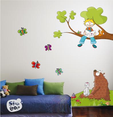 Ideas para decorar paredes - Vinilos de pared baratos ...