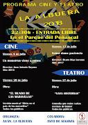 CINE Y TEATRO 2018 AAVV LAALBUERA