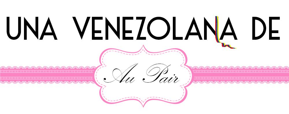 Una Venezolana de Au Pair