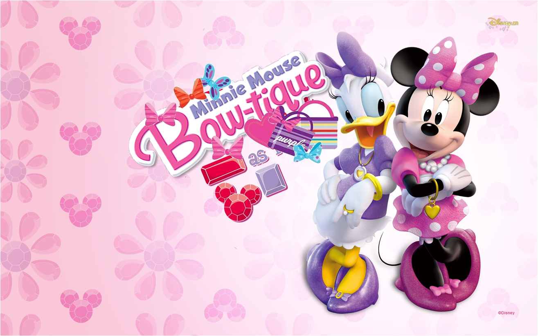Invitación o Etiqueta deMinnie Boutique para Imprimir Gratis.
