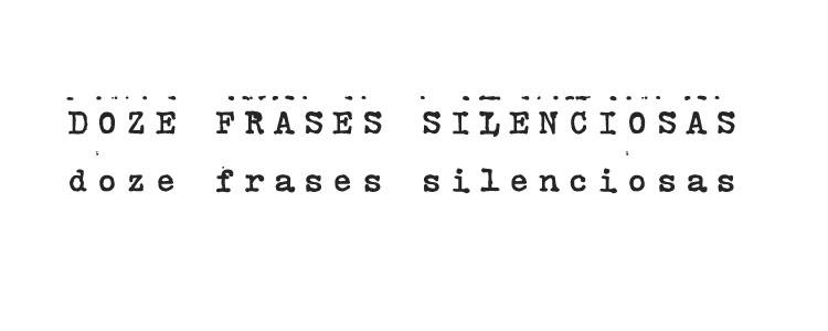 Doze Frases Silenciosas