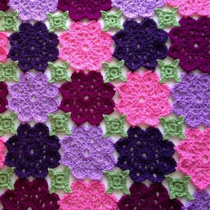 Kennedy's Flower Garden Blanket - Free Pattern