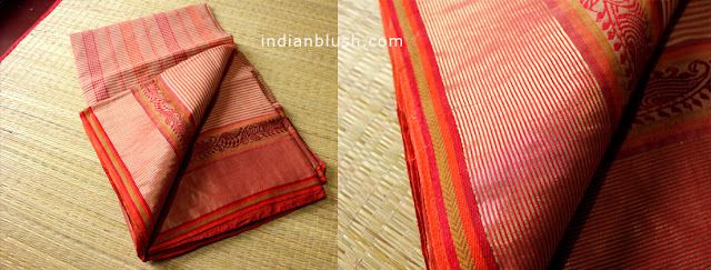 Bengali Wedding Tant Tangail Saree