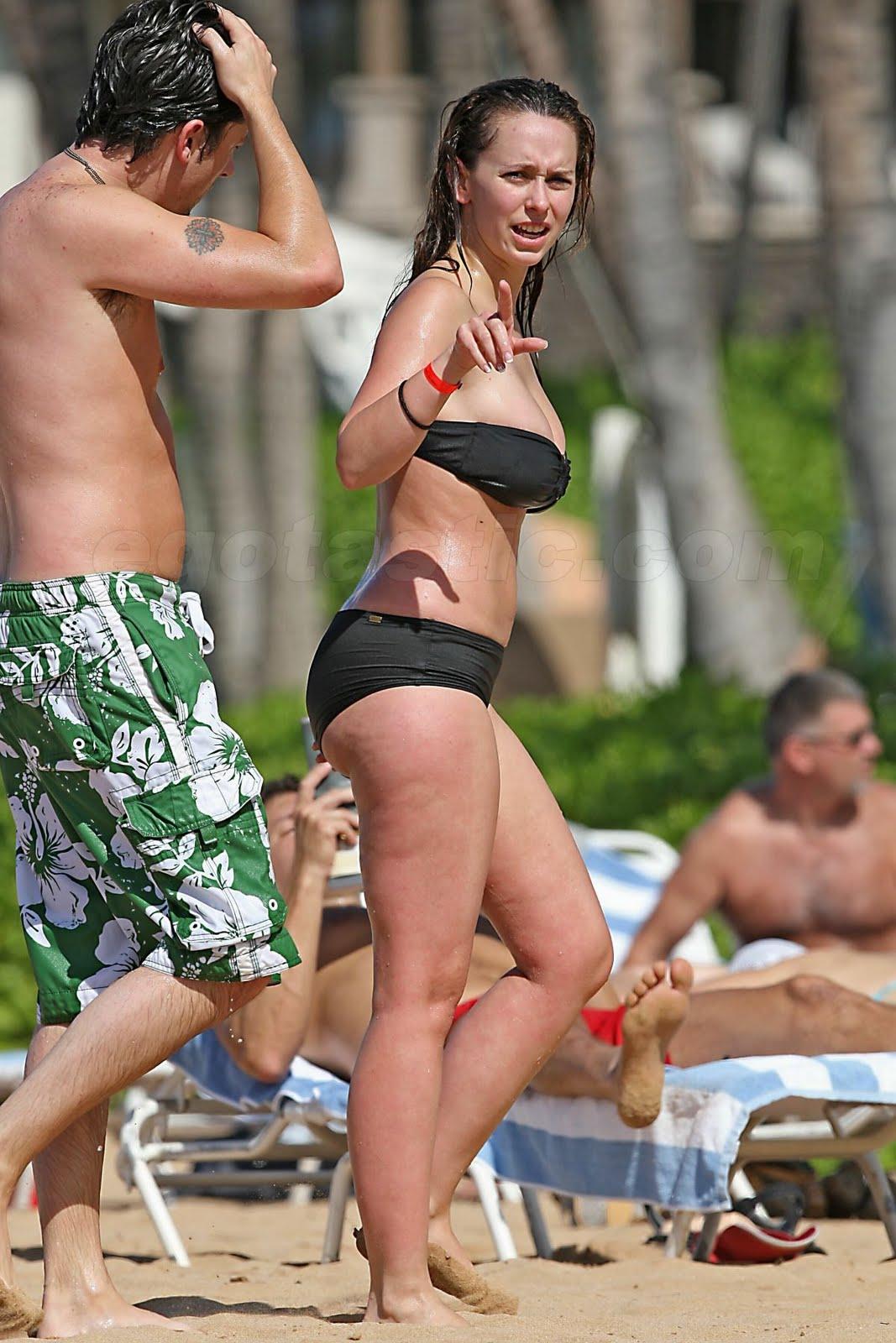 Jennifer ama hewitt paparazzi fotos en bikini