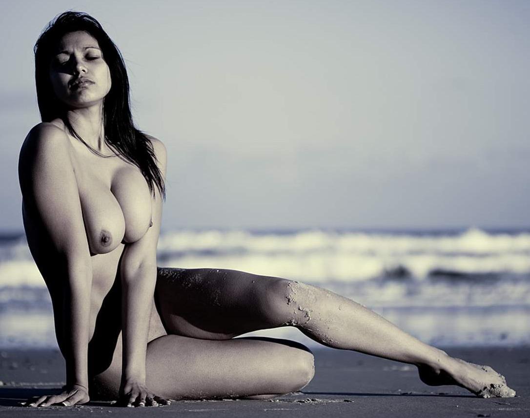Nude model photo shoots