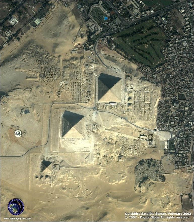 aerial photography - Giza, Egypt