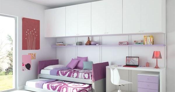 Fotos de dormitorios juveniles para dos chicas - Dormitorios juveniles chicas ...