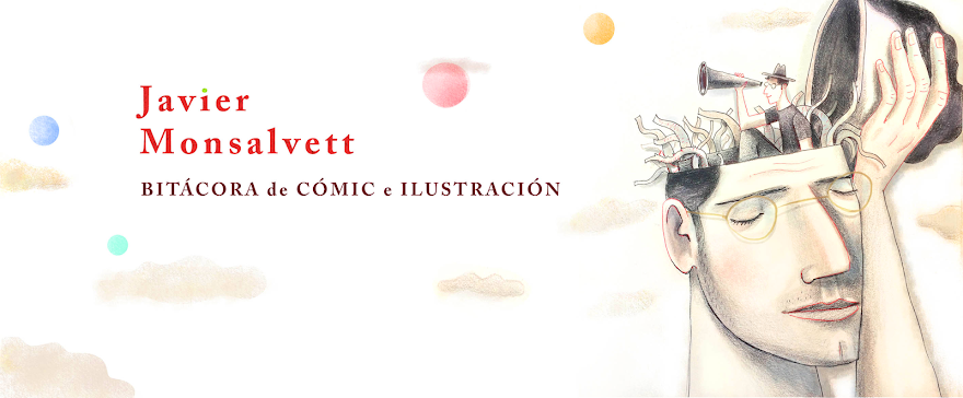 Bitacora de cómic e ilustración  Javier Monsalvett