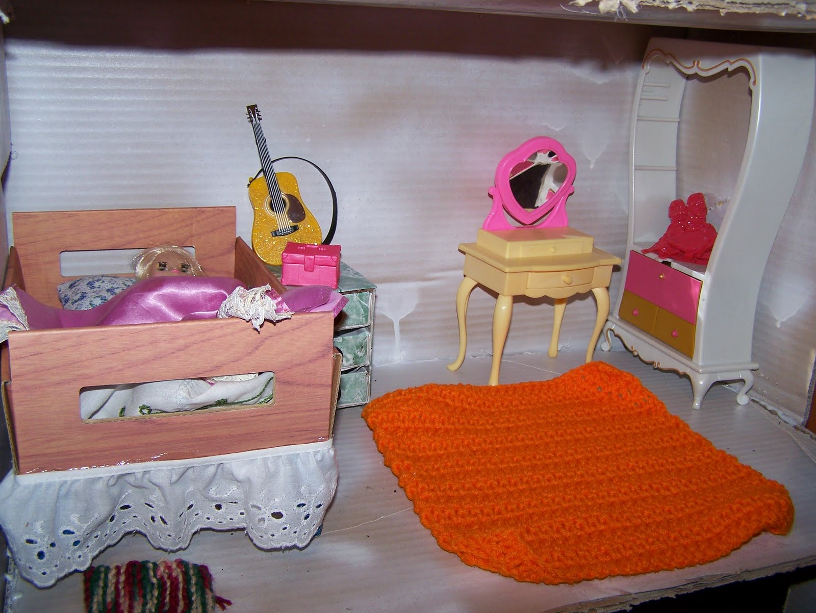 Make Your Own Barbie Furniture Pictures to Pin on Pinterest