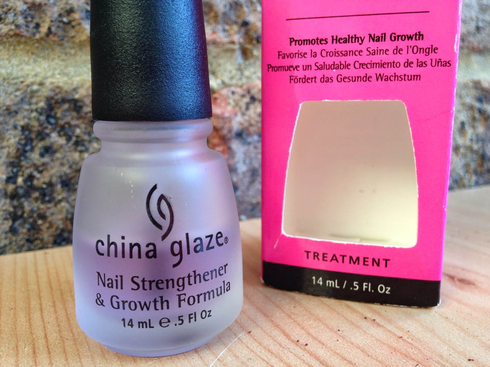 Ashleigh and Beth: China Glaze Nail Strengthener & Growth Formula