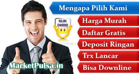 Market Reload Bisnis Agen Pulsa Elektrik Online Termurah All Operator