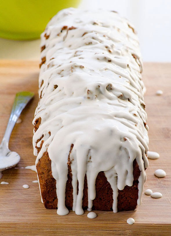 Clean Eating Gingerbread Loaf, iFOODreal
