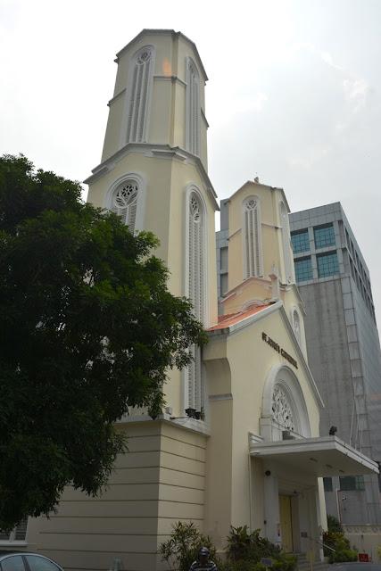 St. Johns cathedral KL tower