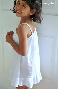 Tutorial #3 - Summer Strappy Nightgown