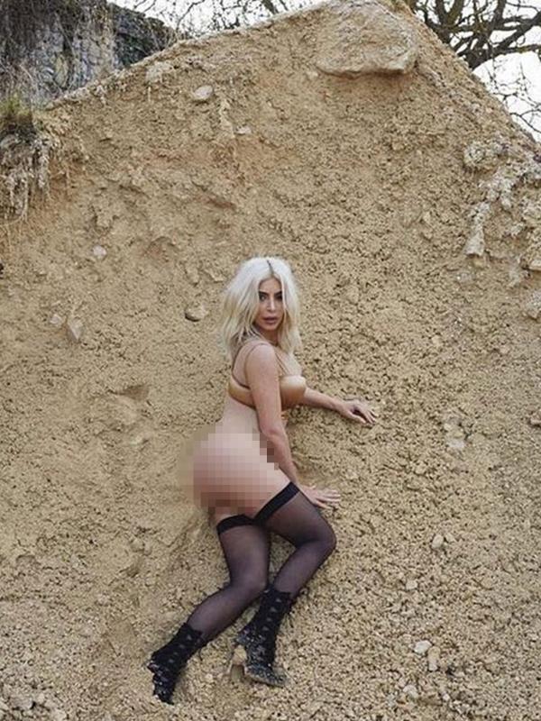 Foto Bugil Kim Kardashian