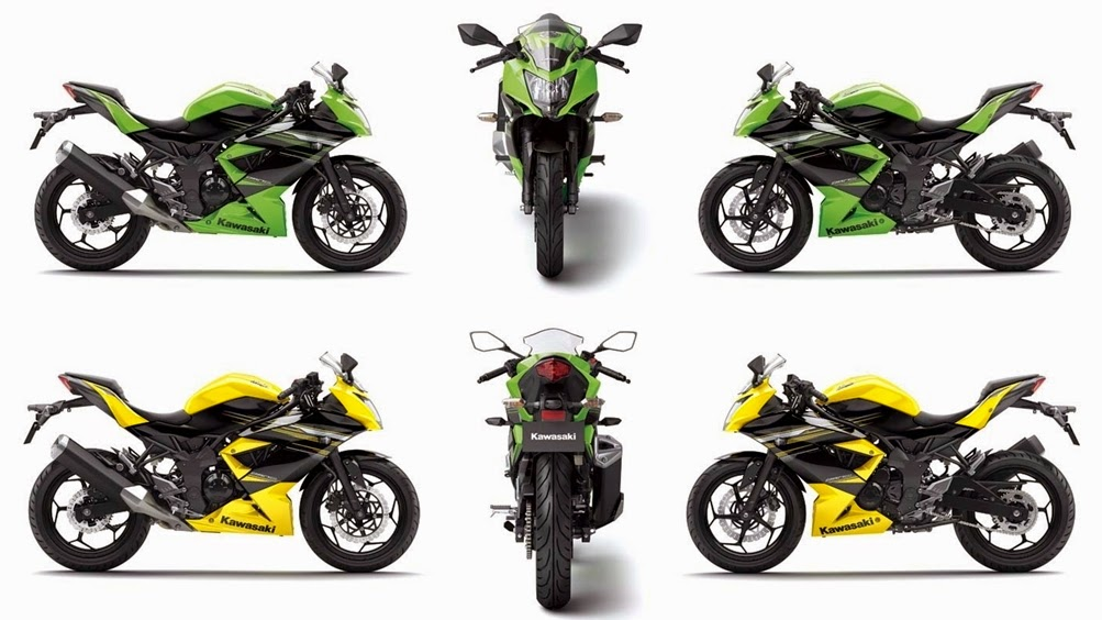 Gambar Kawasaki Ninja RR Mono 250 cc Model Keluaran Terbaru