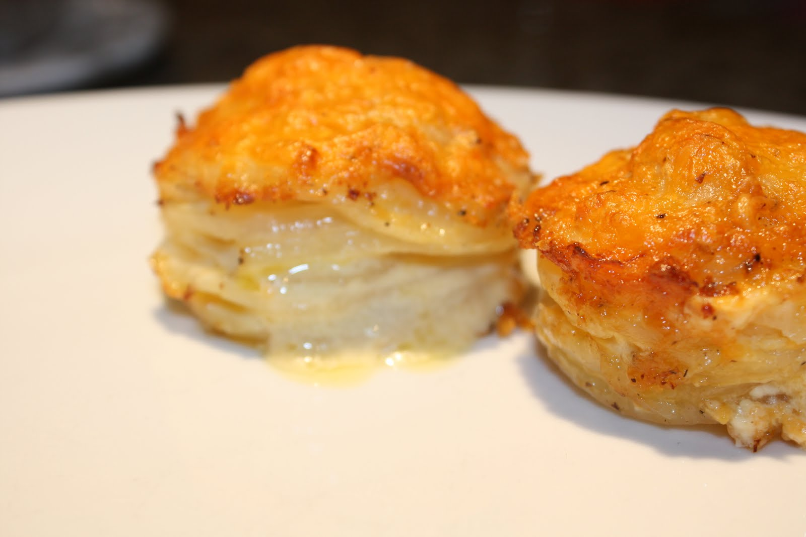 Foodie Escapades: Martha Stewart Inspired Muffin-Pan Potato Gratin