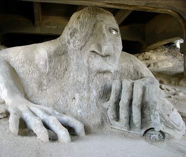 troll in Fremont