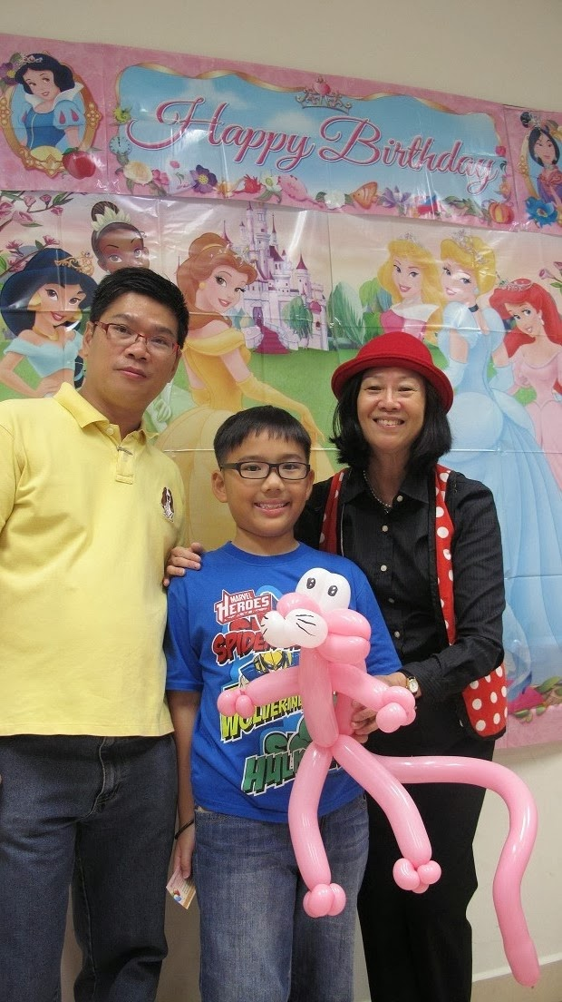 Gwyneth lst birthday  Joey Wong and Eric daughter  Senja Cashew CC  13    Joey Wong Daughter