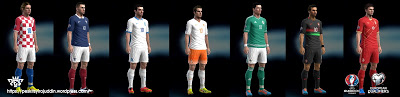 Euro 2016 Qualifiers Kit Packs untuk PES 2013